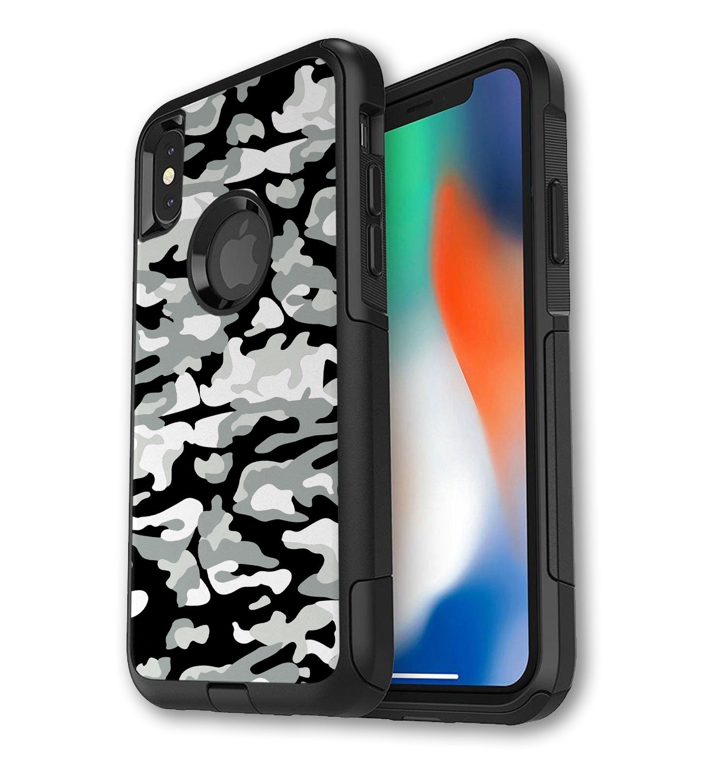 separation shoes ba877 265dd OtterBox Commuter Skin iPhone X/Xs Camo