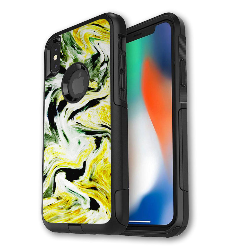 OtterBox Commuter decorative skins for iPhone X/XS.  Custom LifeProof FRE covers for iPhone XS.  Unique OtterBox designs that protect and give your new iPhone XS the style it deserves.