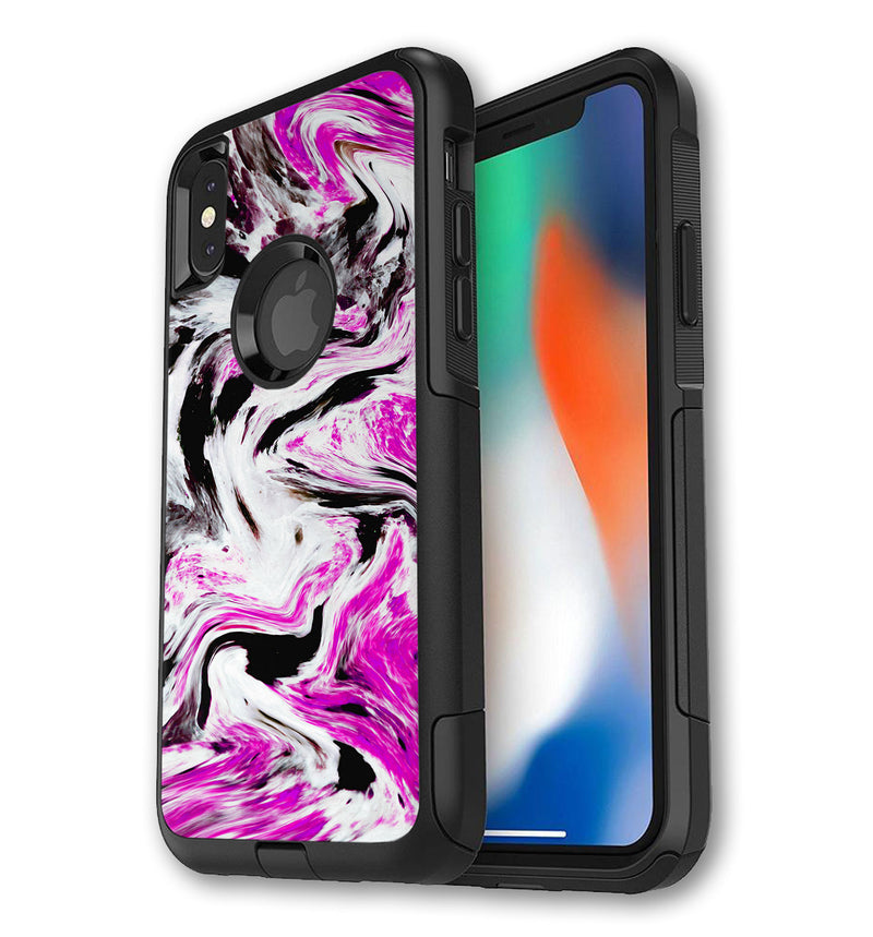 OtterBox Commuter Skin iPhone X/Xs Exotic Granite - JW Skinz