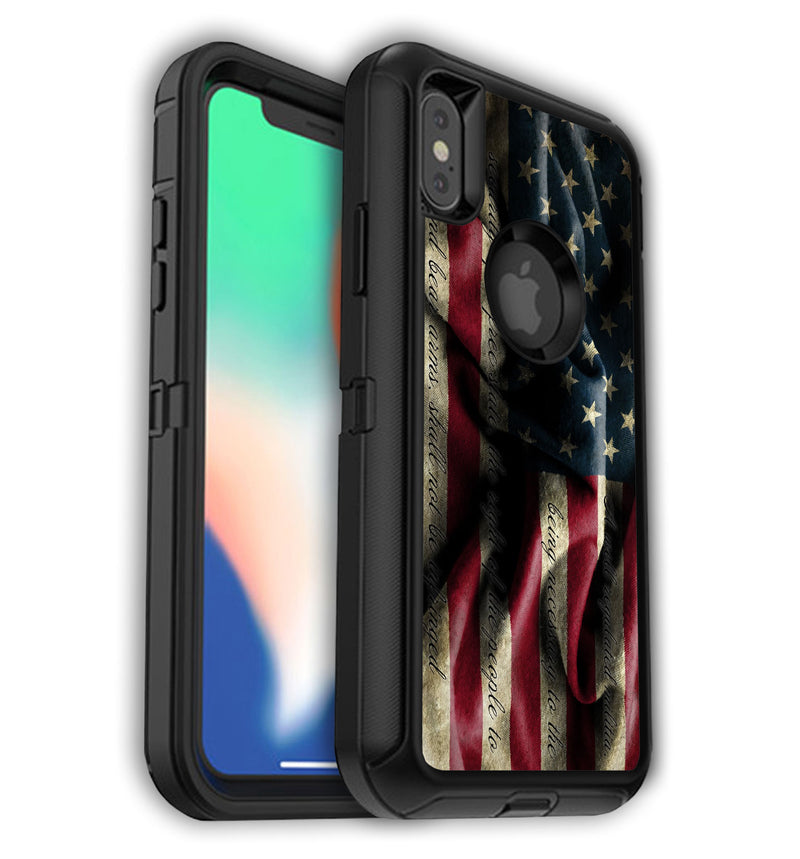 OtterBox decorative skins for iPhone X/XS.  Custom OtterBox covers for iPhone XS.  Unique OtterBox designs that protect and give your new iPhone XS the style it deserves.