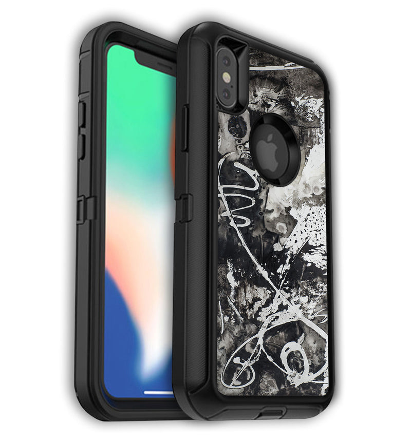 OtterBox Defender Skin iPhone X Abstract