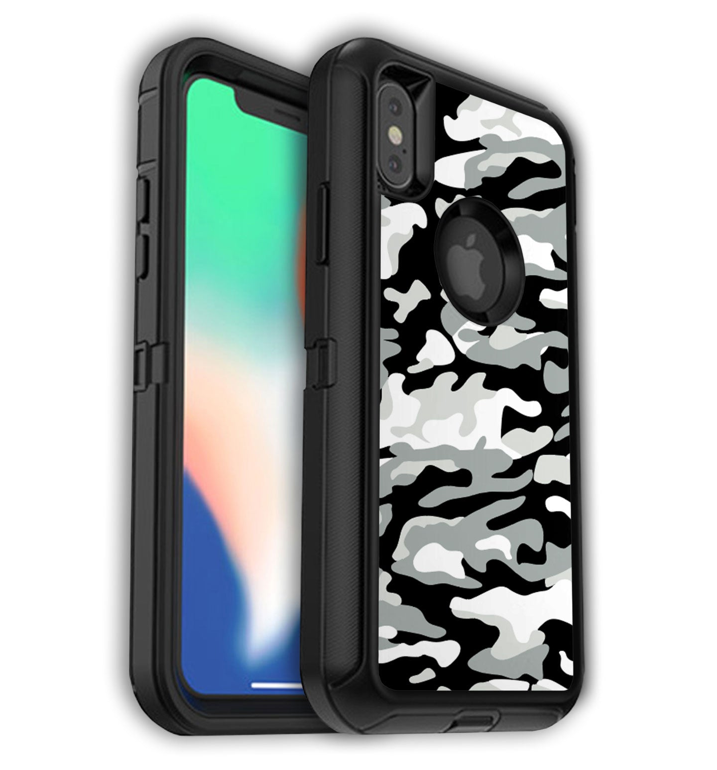 release date: b404c 96f51 iPhone XS Max OtterBox Defender Skins with Logo cutout