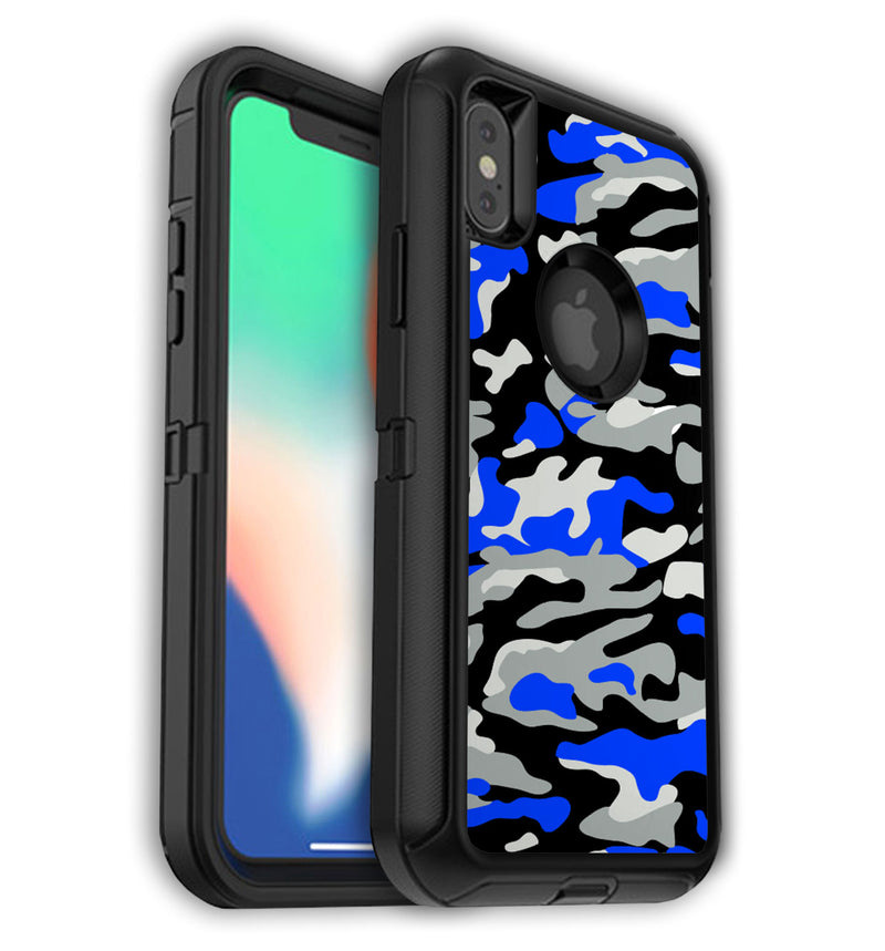 OtterBox decorative skins for iPhone X/XS.  Custom LifeProof FRE covers for iPhone XS.  Unique OtterBox designs that protect and give your new iPhone XS the style it deserves.