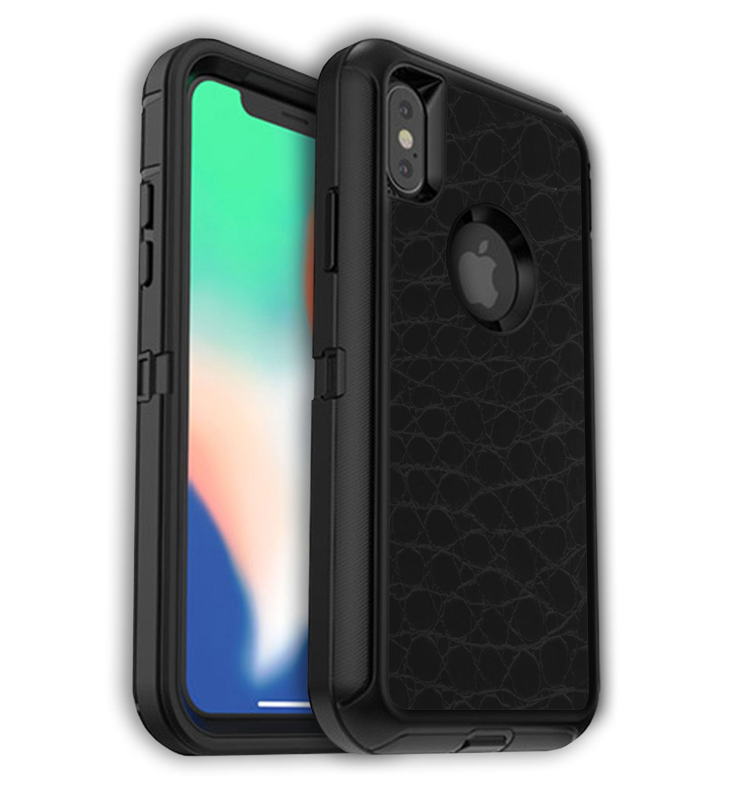 more photos cd4e0 ab87f OtterBox Defender Skin iPhone X/Xs Textured