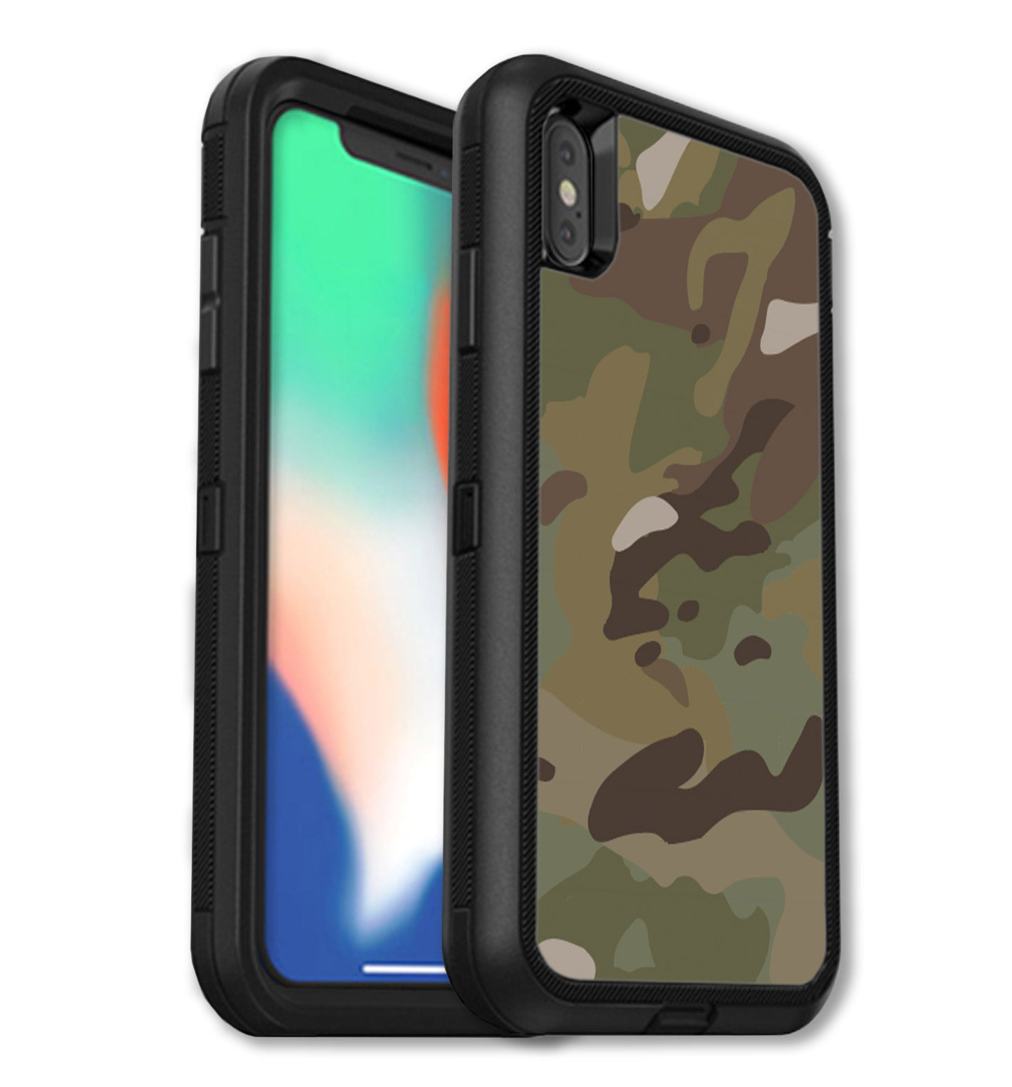 watch 8bb25 01169 OtterBox Defender Skins iPhone Xs Max Camo