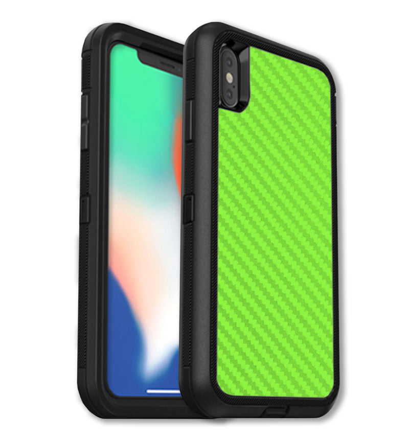 OtterBox Defender Skins iPhone Xs Max Carbon - JW Skinz