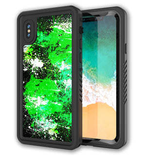 Punkcase Extreme Skin iPhone X Paint Splatter