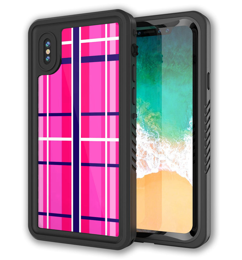Punkcase Extreme Skin iPhone X Plaid