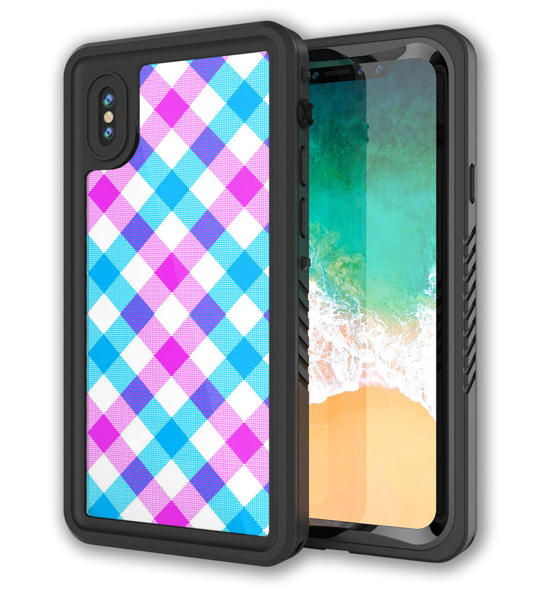 Punkcase Extreme Skin iPhone X Plaid - JW Skinz