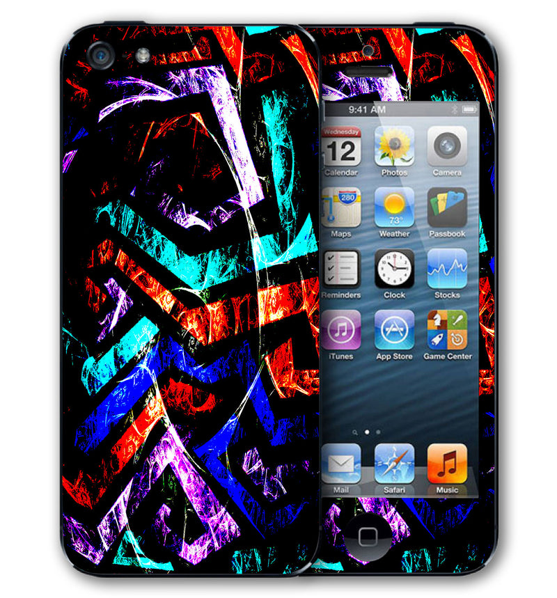 iPhone 5 Phone Skins Abstract - JW Skinz