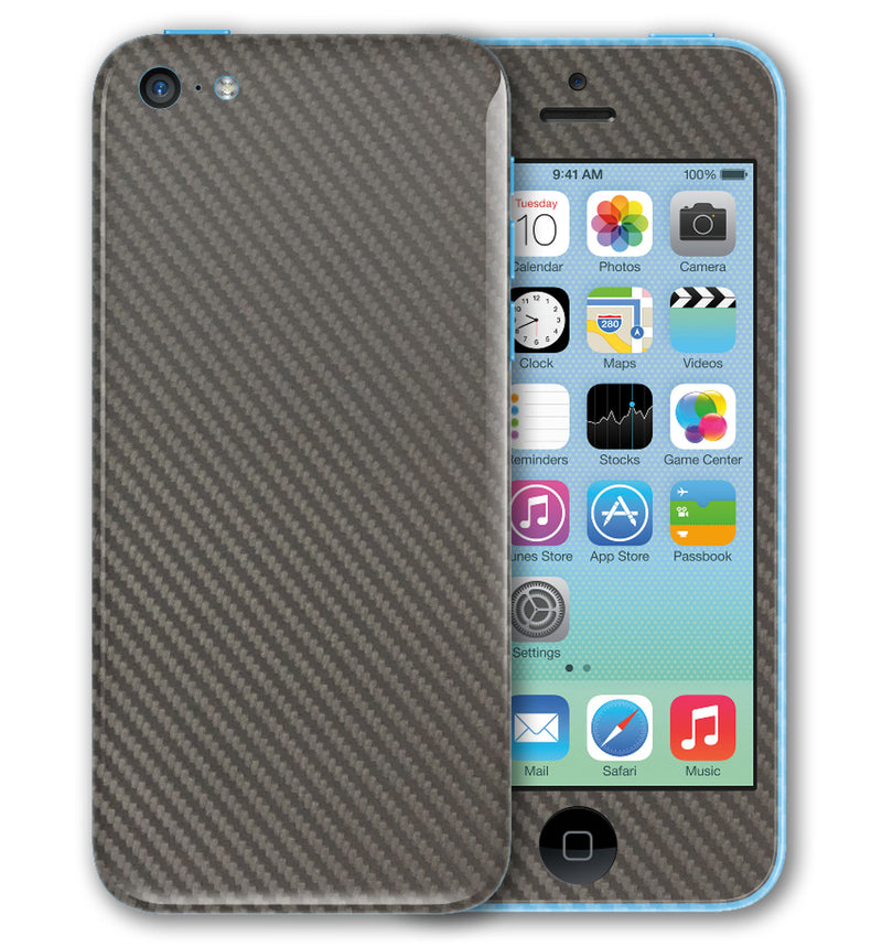 iPhone 5 C Phone Skins Carbon Fiber - JW Skinz