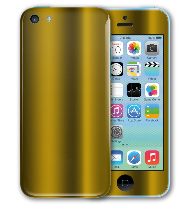 iPhone 5 C Phone Skins Chrome - JW Skinz