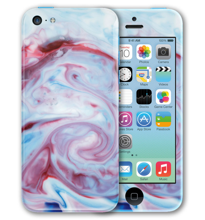 iPhone 5 C Phone Skins Marble - JW Skinz