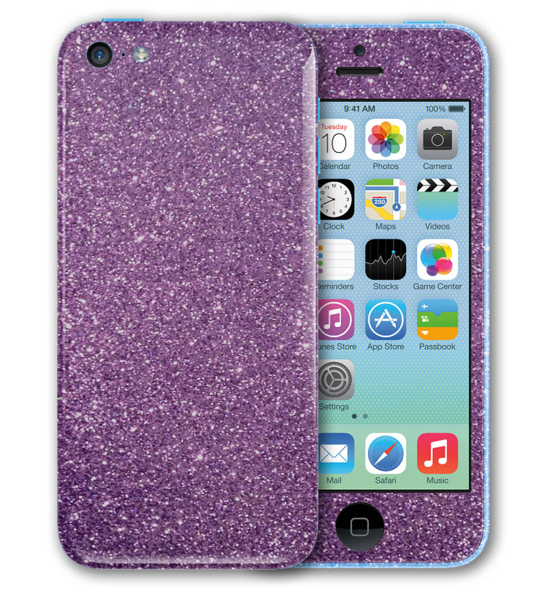 iPhone 5 C Phone Skins Sparkle - JW Skinz