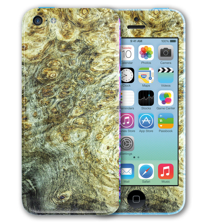 iPhone 5 C Phone Skins Stabilized Wood - JW Skinz