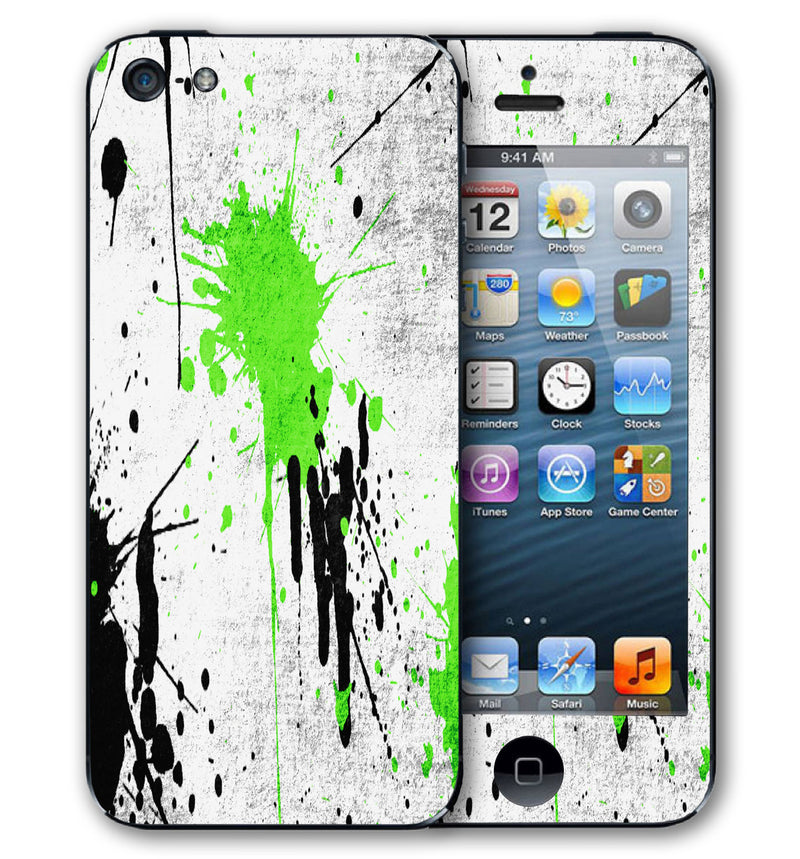 iPhone 5 Phone Skins Paint Splatter - JW Skinz
