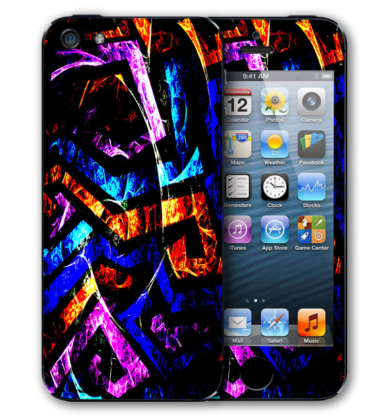 iPhone 5 S / SE Phone Skins Abstract - JW Skinz