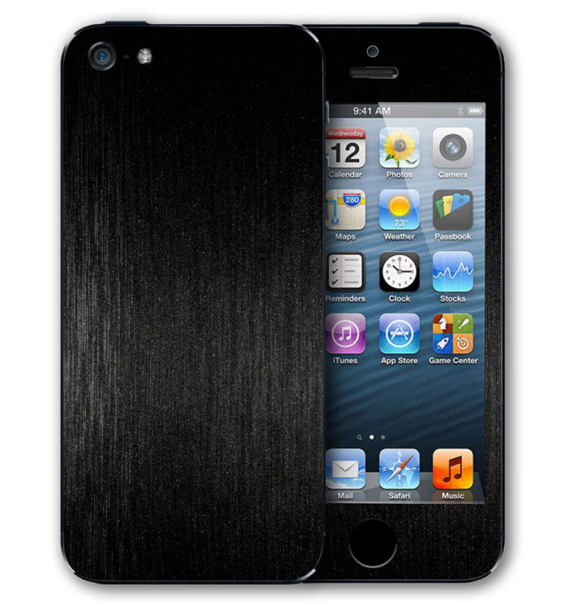 iPhone 5 S / SE Phone Skins Brushed Aluminum - JW Skinz