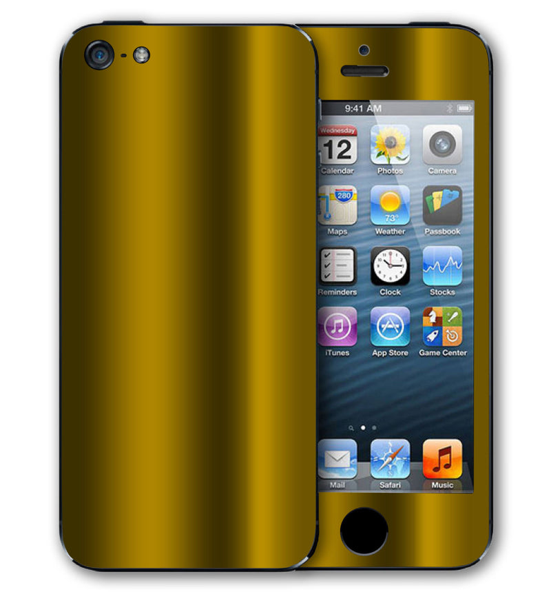 iPhone 5 S / SE Phone Skins Chrome - JW Skinz