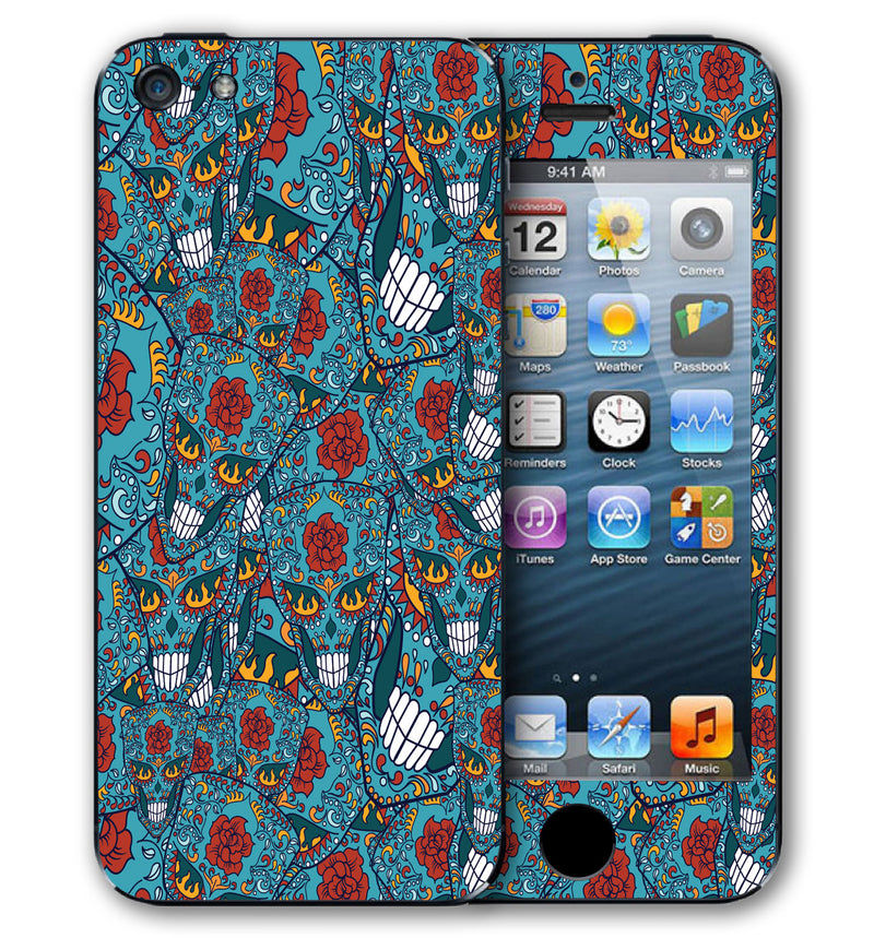 iPhone 5 S / SE Phone Skins Sugar Skulls - JW Skinz