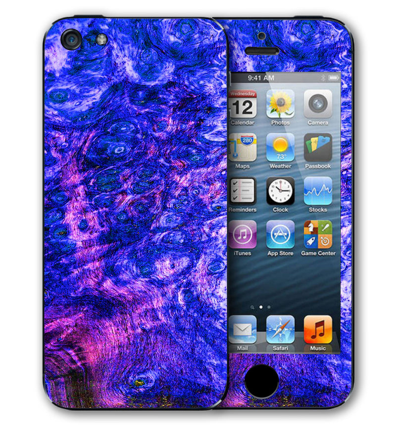 iPhone 5 S / SE Phone Skins Stabilized Wood - JW Skinz