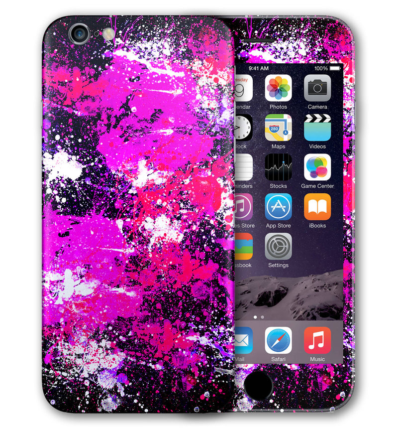 iPhone 6 S Phone Skins Paint Splatter - JW Skinz