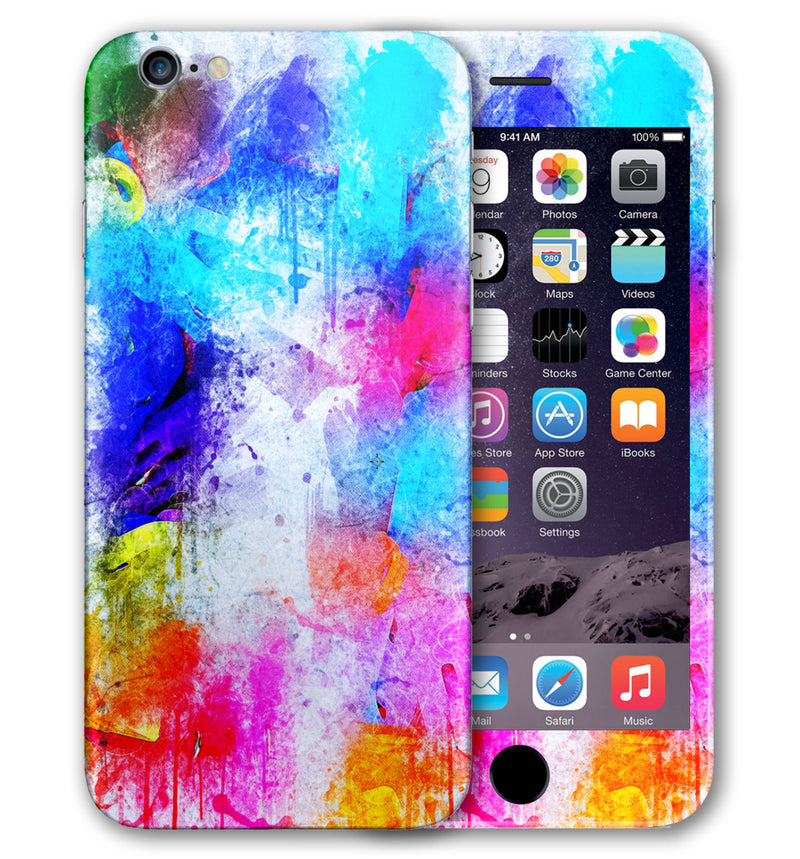 iPhone 6 Plus Phone Skins Paint Splatter
