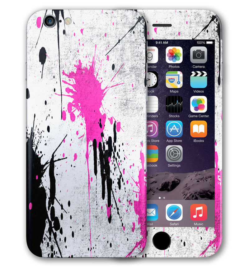 iPhone 6 S Plus Phone Skins Paint Splatter - JW Skinz