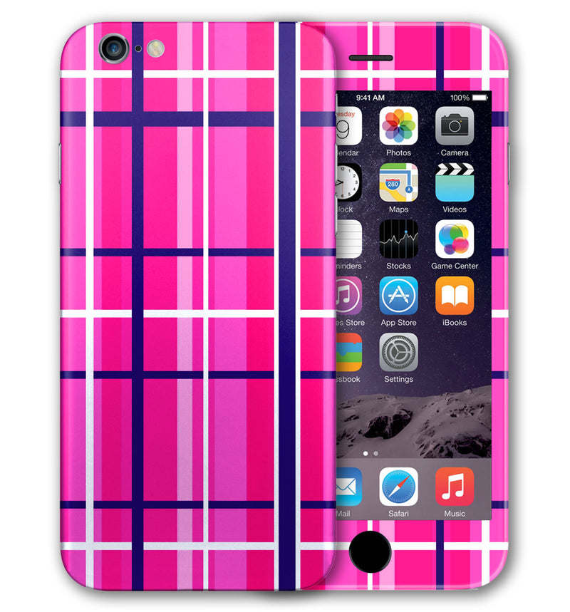 iPhone 6 Phone Skins Plaid