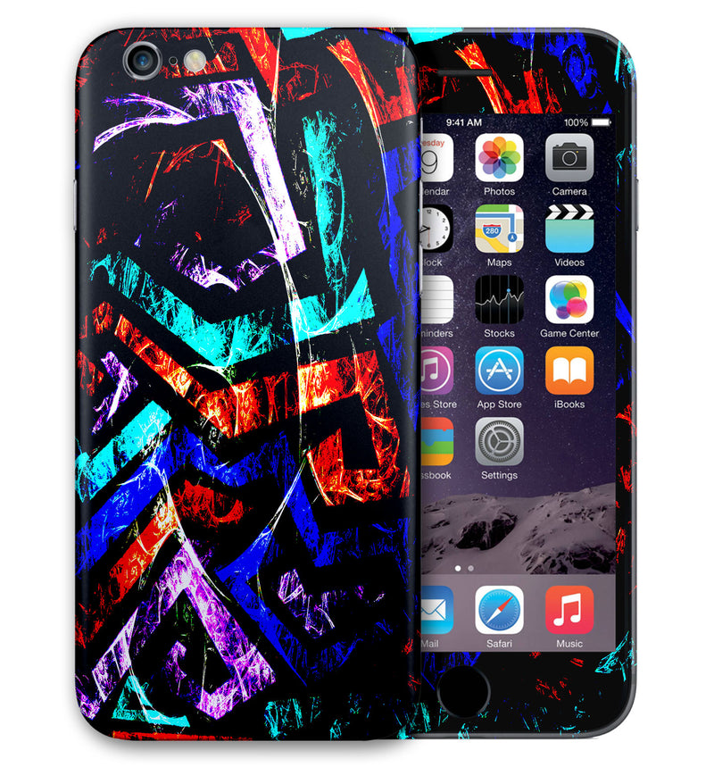 iPhone 6 S Plus Phone Skins Abstract - JW Skinz