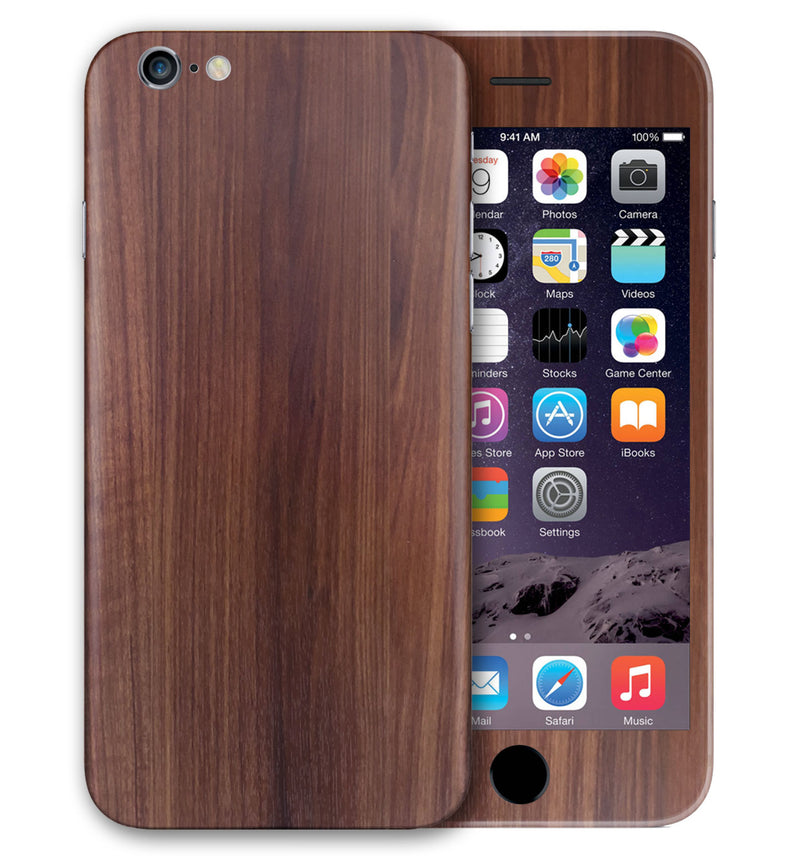 iPhone 6 S Plus Phone Skins Wood Grain - JW Skinz