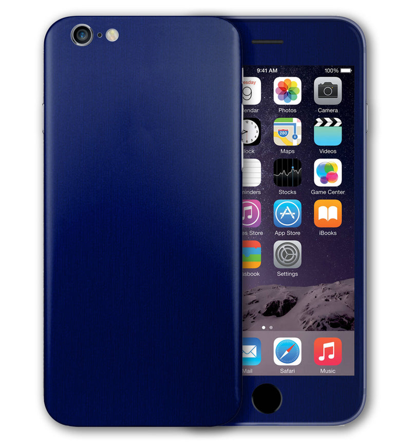 iPhone 6 Phone Skins Brushed Aluminum - JW Skinz