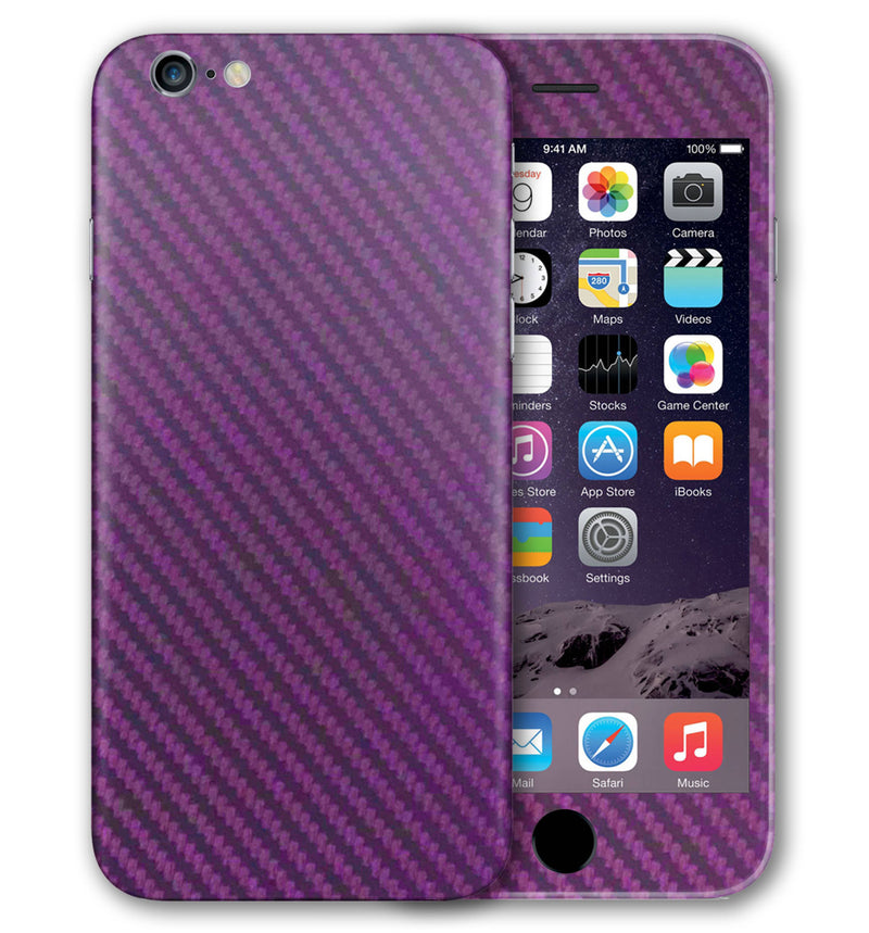iPhone 6 S Phone Skins Carbon Fiber - JW Skinz