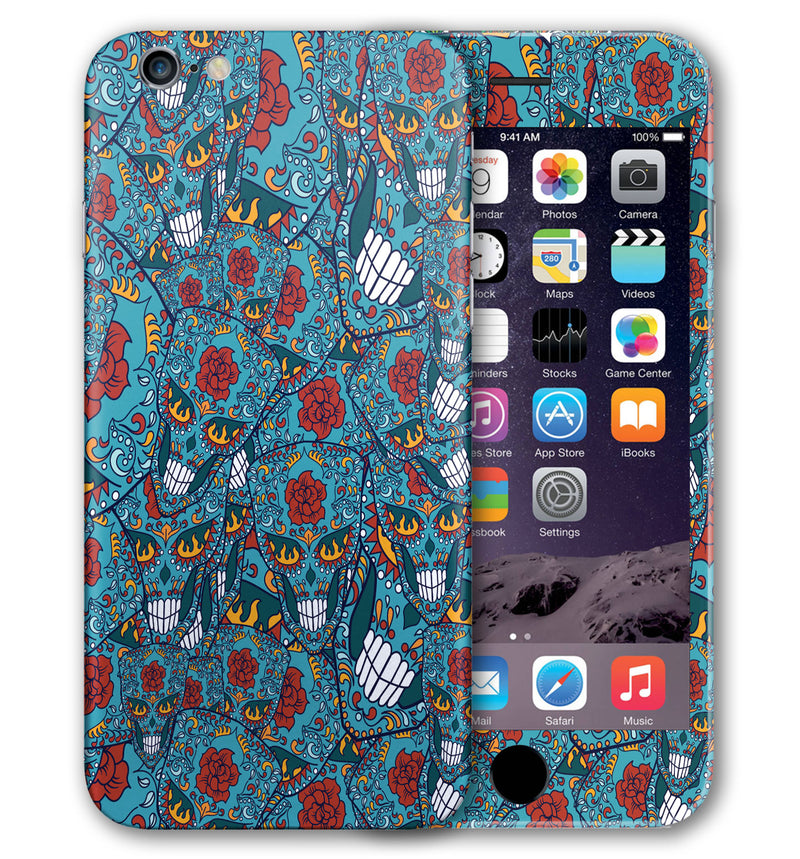 iPhone 6 S Phone Skins Sugar Skulls - JW Skinz