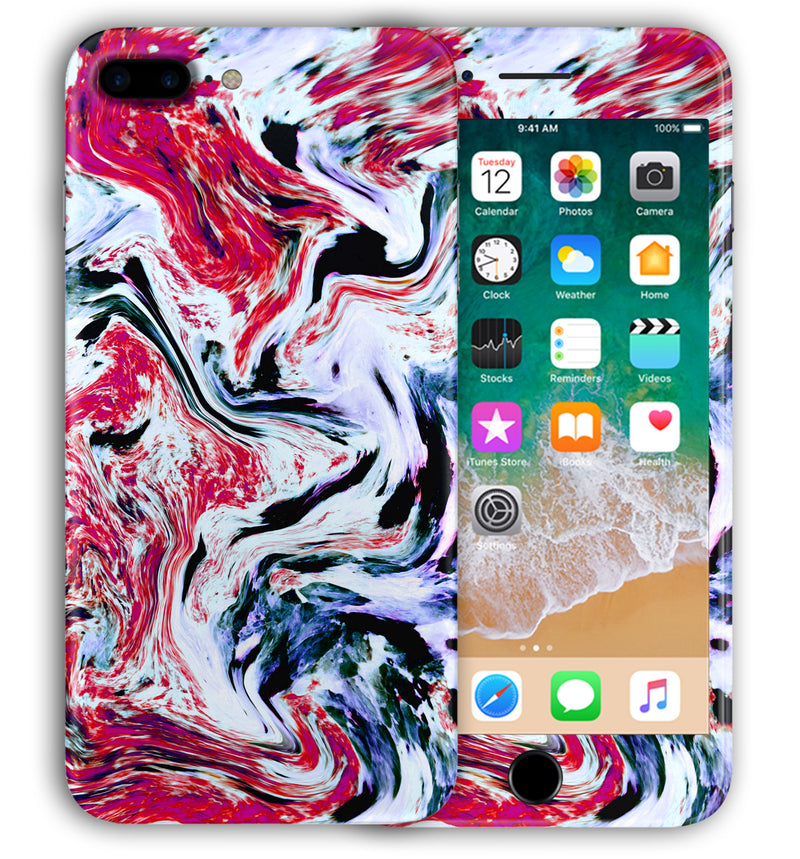 iPhone 8 Plus Phone Skins Exotic Granite - JW Skinz