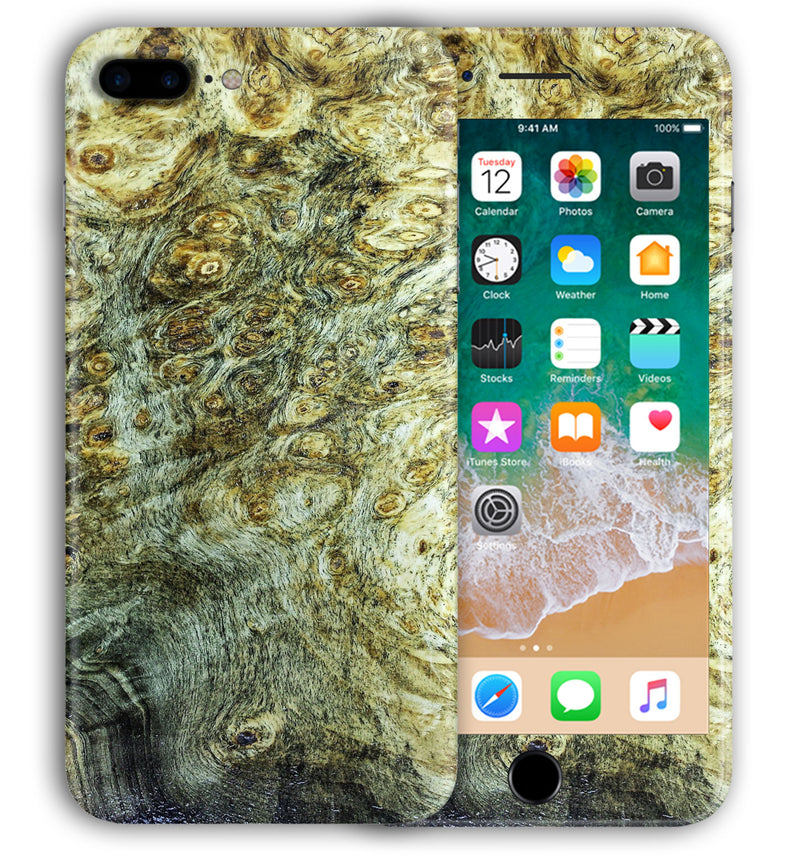 iPhone 7 Plus Phone Skins Stabilized Wood - JW Skinz