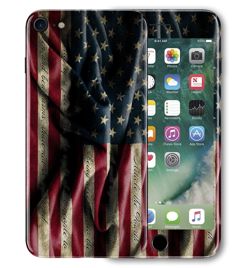 iPhone 7 Phone Skins Freedom - JW Skinz