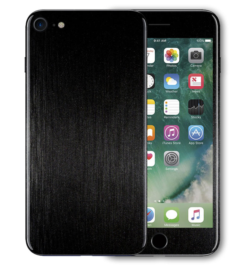 iPhone 7 Phone Skins Brushed Aluminum - JW Skinz