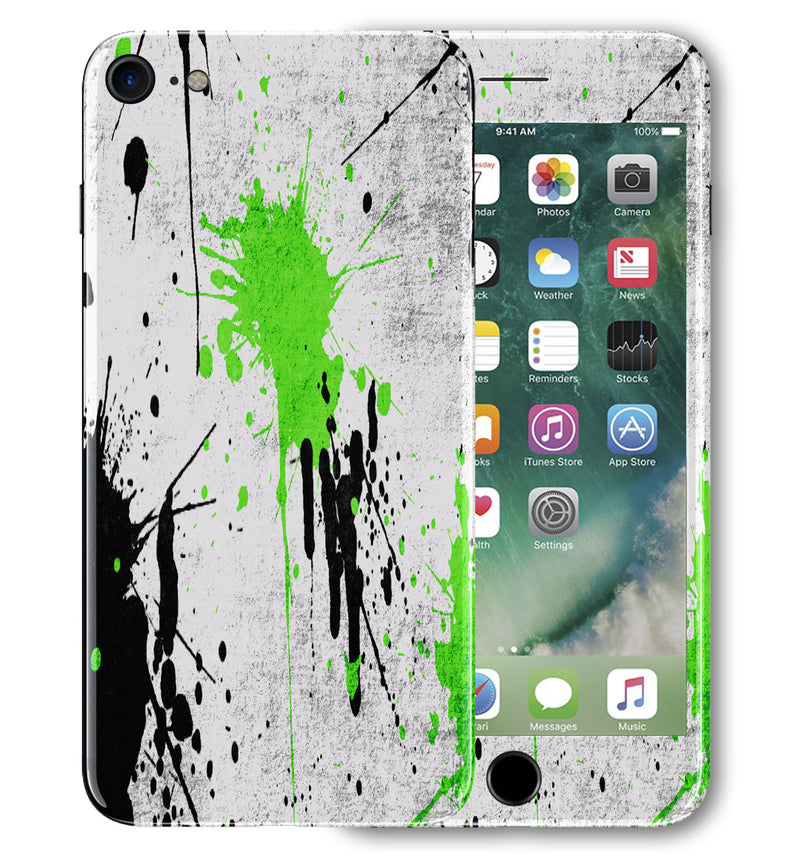 iPhone 7 Phone Skins Paint Splatter - JW Skinz