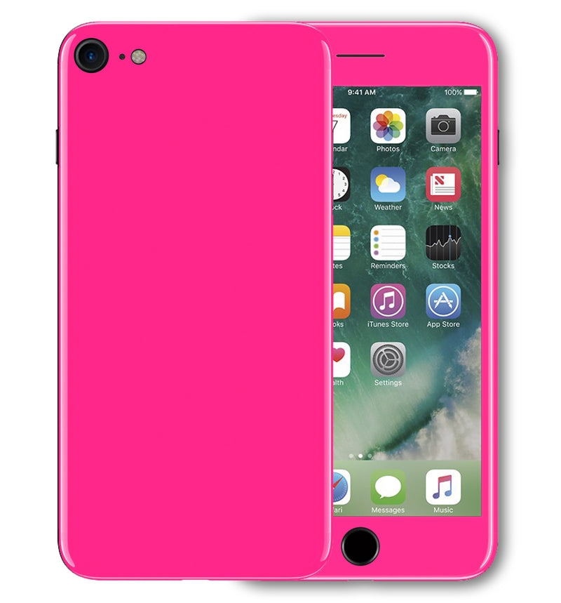 iPhone 7 Phone Skins Fluorescent - JW Skinz