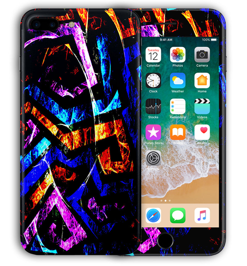 iPhone 8 Plus Phone Skins Abstract