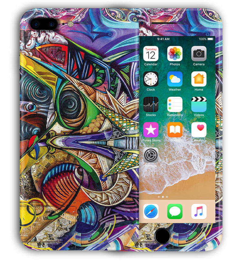 iPhone 8 Plus Phone Skins Abstract - JW Skinz