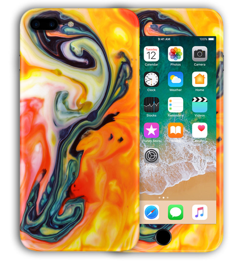 iPhone 8 Plus Phone Skins Marble