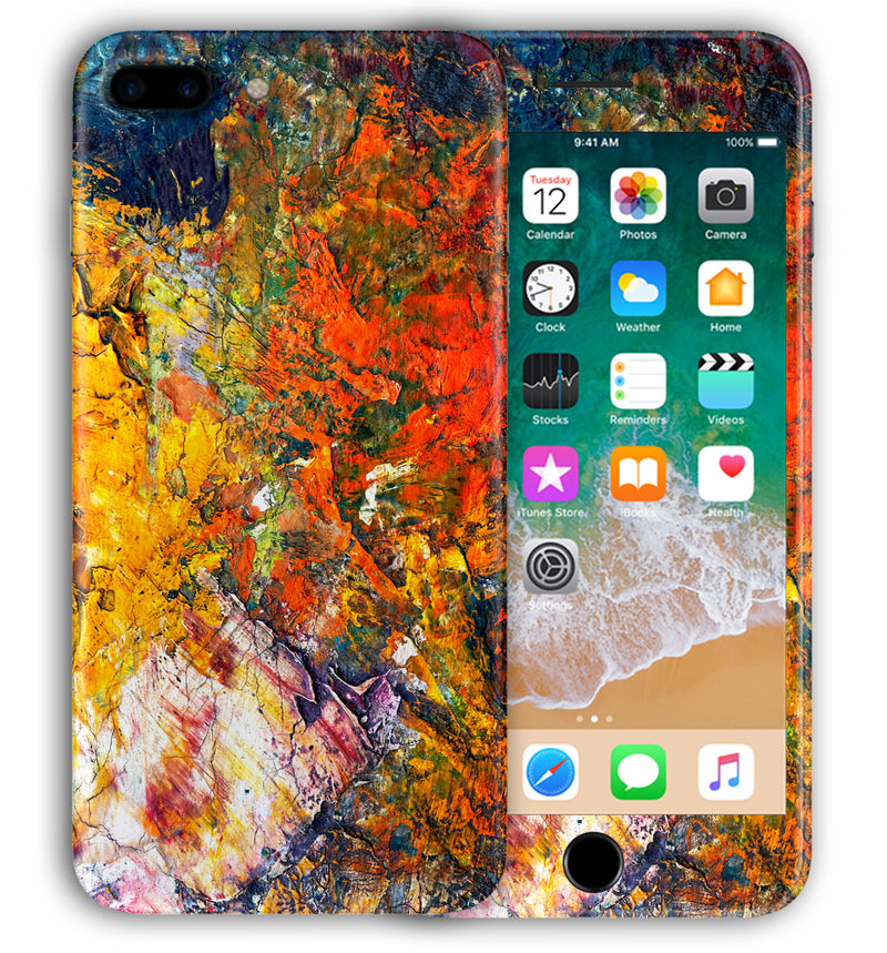 iPhone 8 Plus Phone Skins Marble - JW Skinz