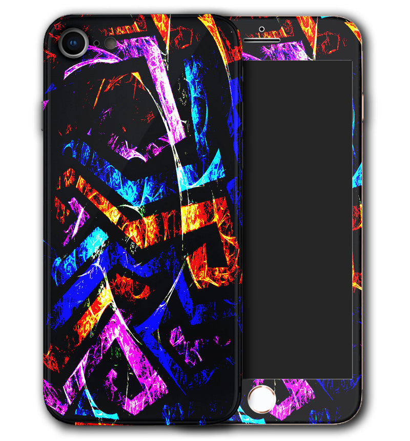 iPhone 8 Phone Skins Abstract - JW Skinz