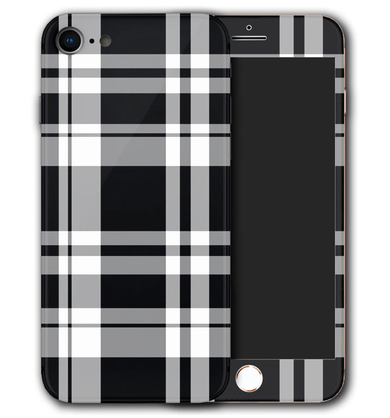 iPhone 8 Phone Skins Plaid