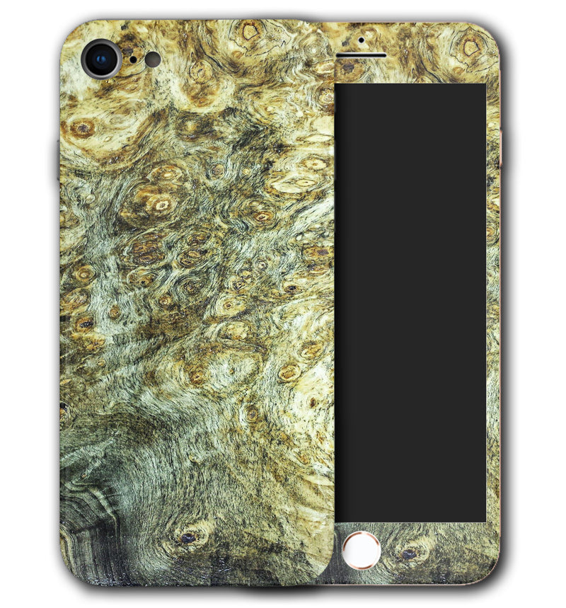 iPhone 8 Phone Skins Stabilized Wood - JW Skinz