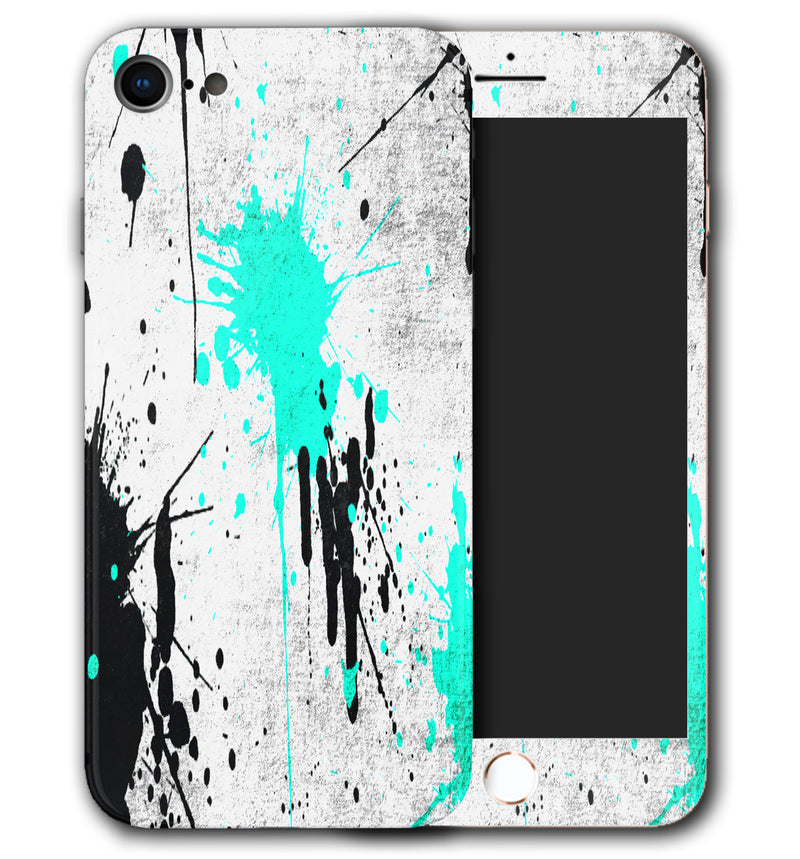 iPhone 8 Phone Skins Paint Splatter - JW Skinz