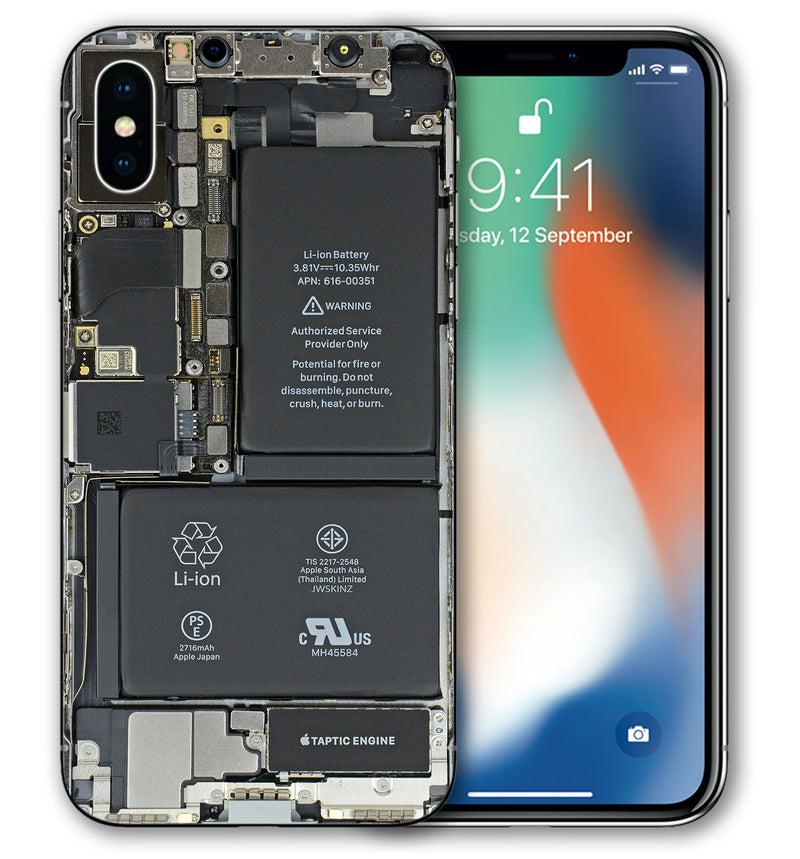 iPhone X Phone Skin Translucent - JW Skinz