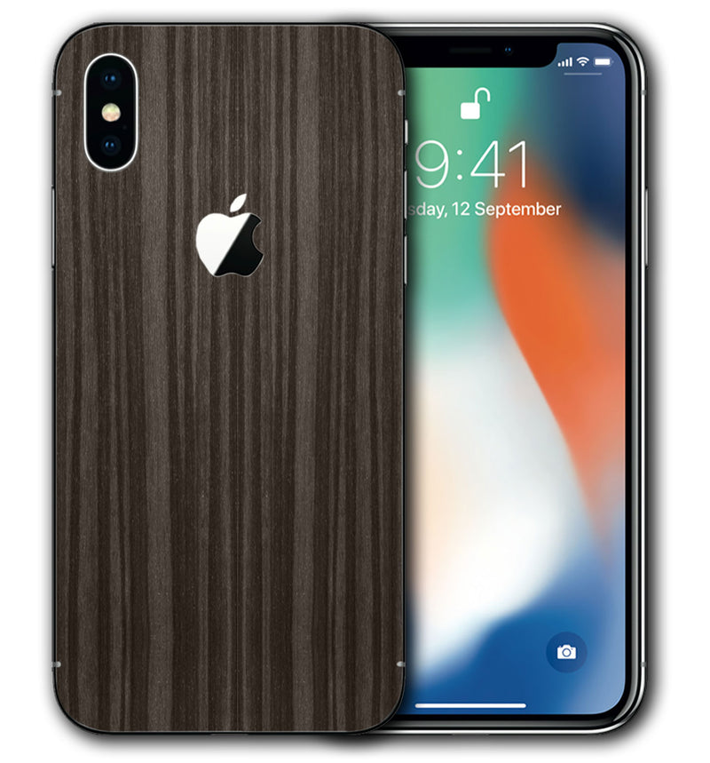 iPhone X Woodgrain Collection - JW Skinz